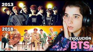 REACCIONANDO AL K-POP (EVOLUCION BTS)