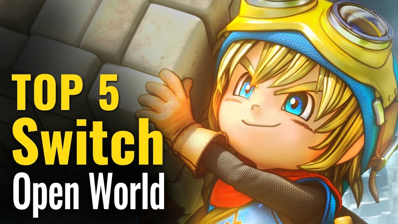 Top 5 Switch Open World Games So Far Youtube
