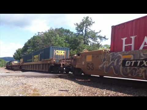 CSX Craziness at Iona Island