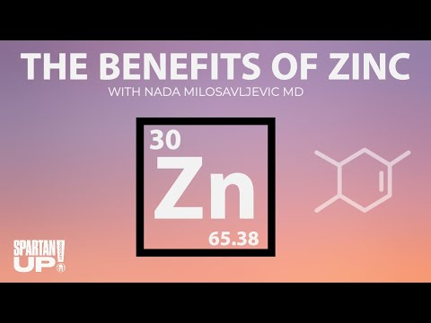 The Benefits of Zinc / Spartan Up Podcast HEALTH