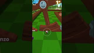 GOLF BATTLE BY MINICLIP GAMEPLAY PINE FOREST, I KEEP FALLING OF THE PLATFORM HAHA