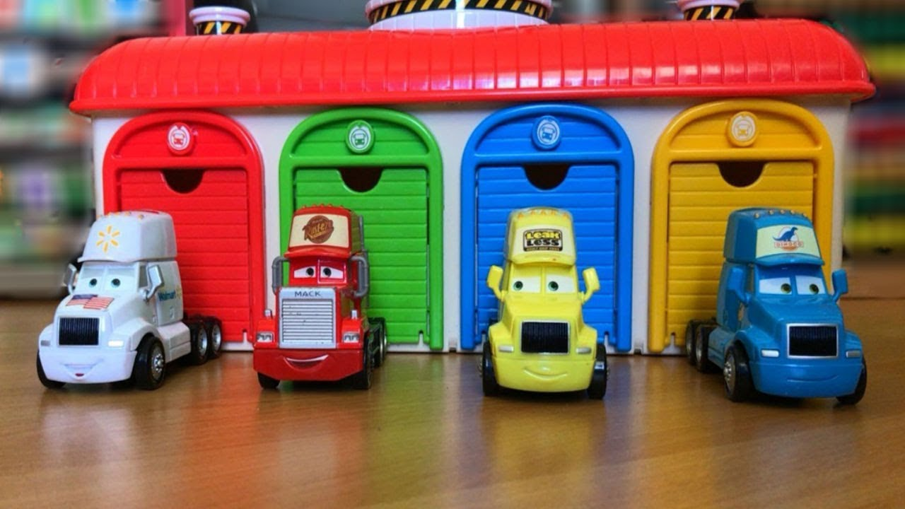 Disney cars toys lightning mcqueen thomas and friends for Garage mariot pecy