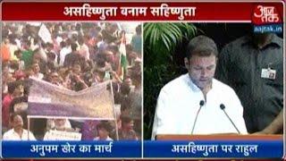 Intolerance Row: Anupam Kher Lead #MarchForIndia To Rashtrapati Bhawan