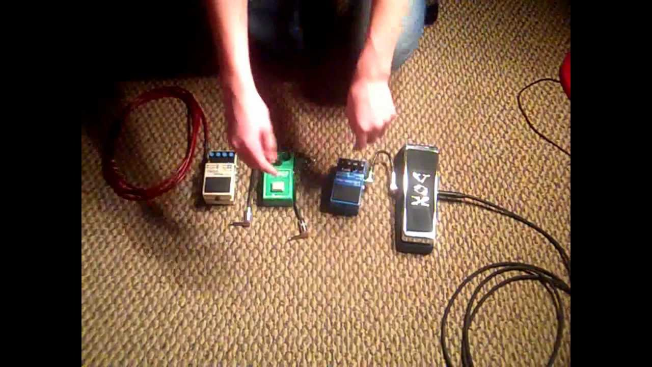 guitar 101 how to set up your guitar pedals youtube. Black Bedroom Furniture Sets. Home Design Ideas