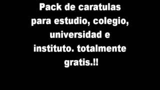 Pack de caratula - MEGA