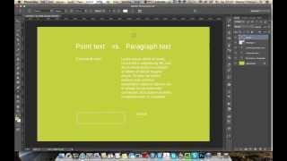Работа с текстом - Урок 01. Строчный текст и параграф