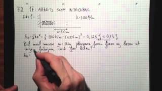 Fysikk 2 1F Arbeid som integral Del 2