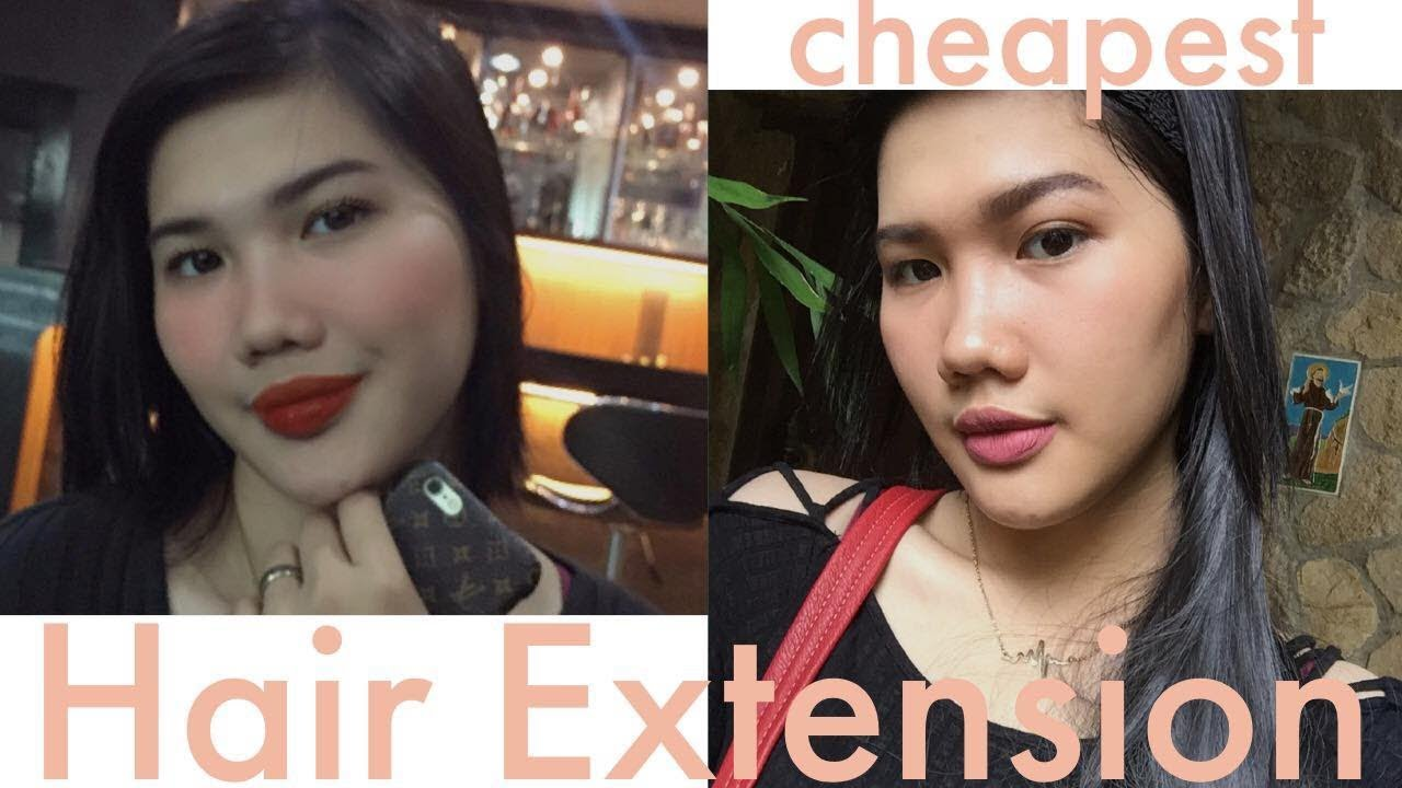 Cheapest Human Hair Extension Philippines Youtube