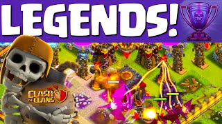 Clash of Clans ♦ LEGENDS! ♦ The Struggle to 5000 Trophies in Clash ♦ CoC ♦