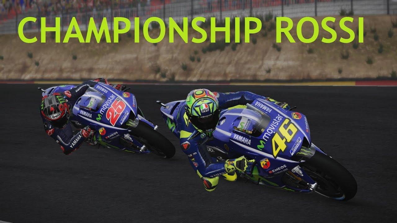 MotoGP 17   Championship MotoGP #14   Valentino Rossi   Aragon   14/18   gameplay - YouTube