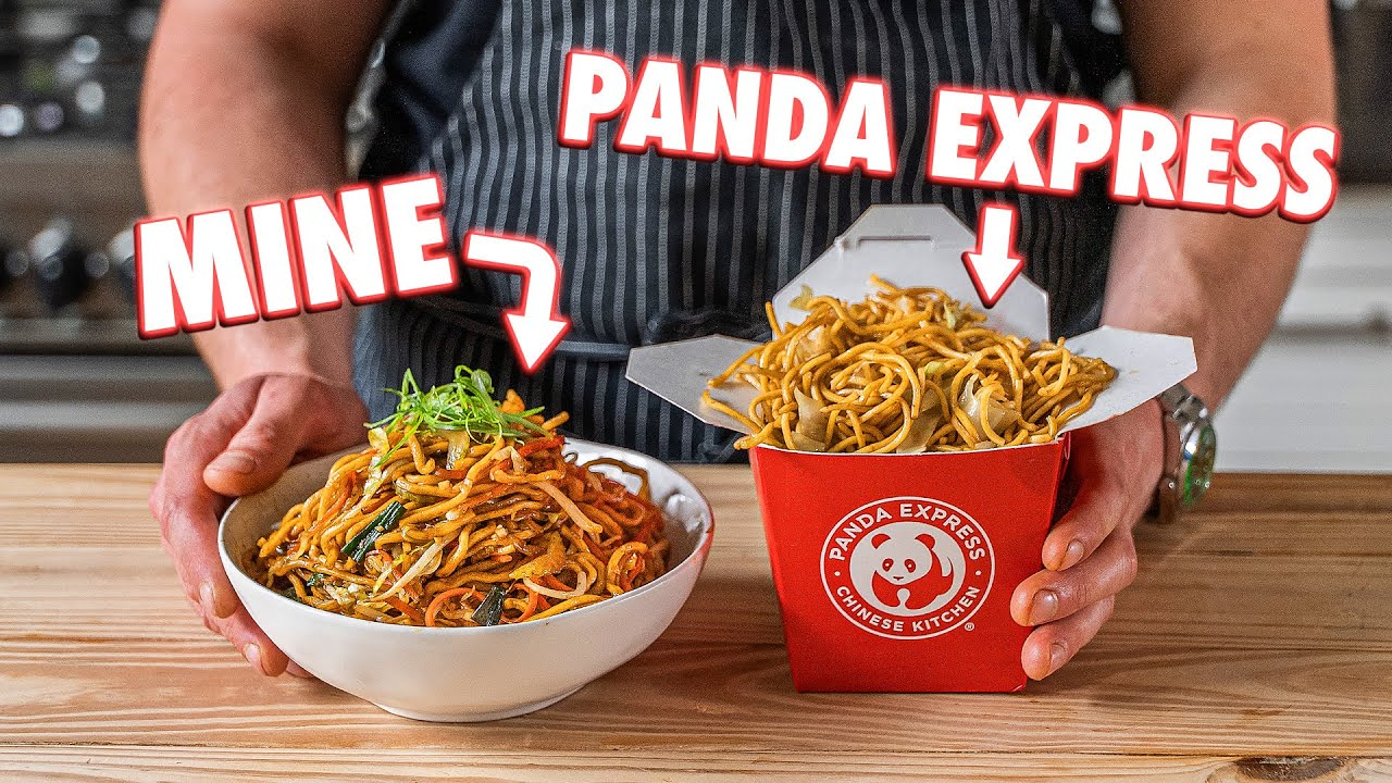 Making Panda Express Chow Mein At Home | But Better