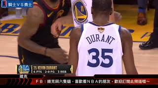 NBA 騎士VS勇士 Game 1 Highlights 20180601