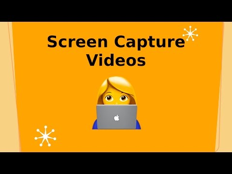 Web Video: Screen capture recording and Screencasting
