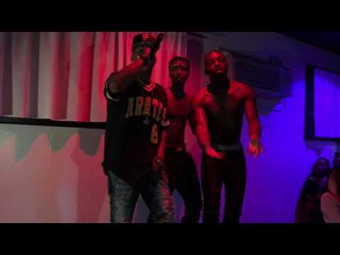 GWEZZY , KING NOAH & DRAMA - THE RHYTHM TOUR CONNECTICUT  LIVE @ ELEMENTS CAFE WITH HOOD CELEBRITYY