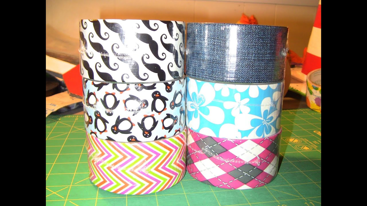Brand new duck tape designs youtube for Duct tape bedroom ideas
