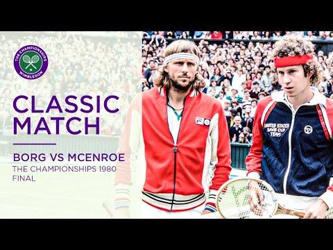 Bjorn Borg vs John McEnroe | Wimbledon 1980 Final | Full Match