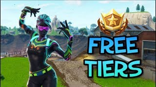 How To Gain FREE TIERS In Fortnite Battle Royale | Fortnite Battle Royale Guide