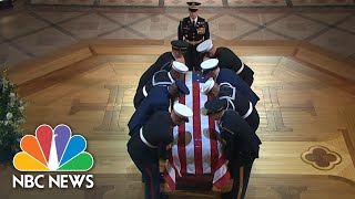 Top Moments From George H.w. Bush's Funeral   Nbc News