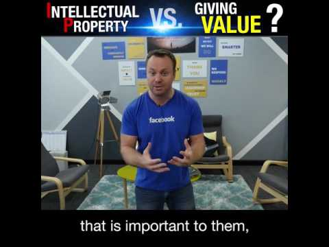 Best Business Advice - Intellectual Property V.S. Value - Kerwin Rae