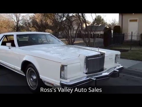 1977 Lincoln Continental Mark V - Ross's Valley Auto Sales - Boise, Idaho