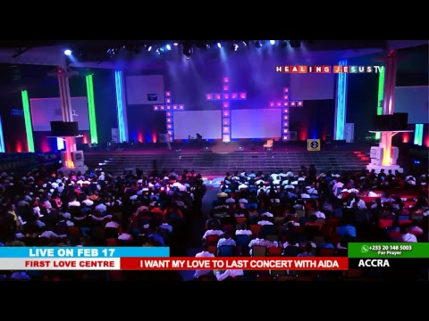 WATCH I WANT MY LOVE TO LAST CONCERT WITH AIDA, LIVE FROM THE FIRST LOVE CENTRE, ACCRA - GHANA.