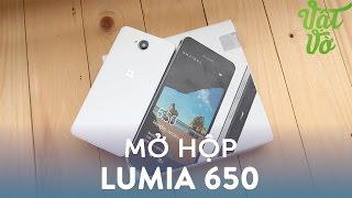 Vật Vờ| Mở hộp & đánh giá nhanh Microsoft Lumia 650: điện thoại Lumia mỏng nhất