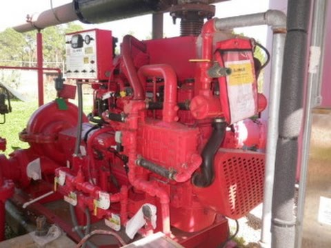 Clark Diesel Fire Pump Set On Govliquidation Com