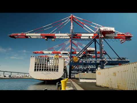 Long Beach Container Terminal at the Port of Long Beach Now Complete