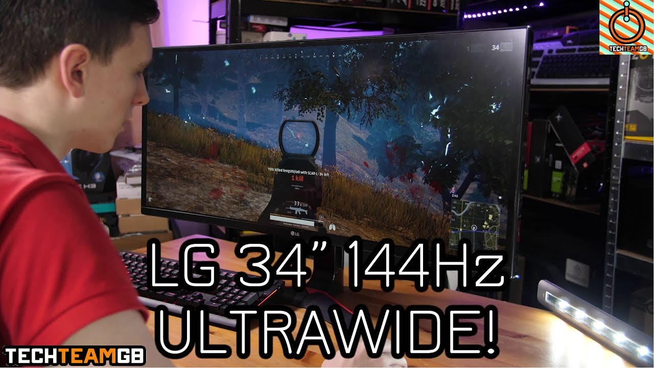 LG 34UC79G-B 144Hz Ultrawide Monitor Review