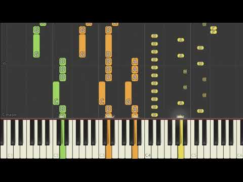 Skillet - Circus for a Psycho Synthesia Tutorial [Piano]
