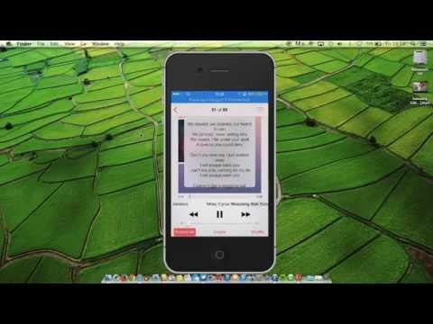 Cydia tweaks lyricalizer (song lyric in  iPhone music player)