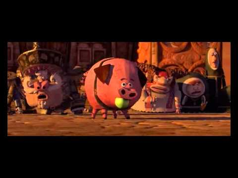 The Book of Life 2014 pig saying Blehhh ! - YouTube