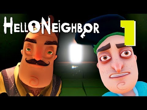 Hello Neighbor (Full Game) - FULL ACT 1 + 2, Manly Let's Play [ 1 ]