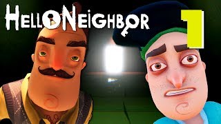 Hello Neighbor (Full Game) - FULL ACT 1 + 2, Manly Let