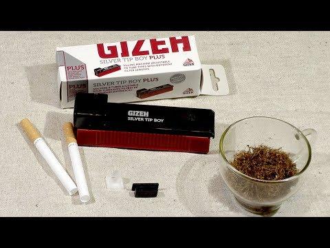Универсальная машинка для набивки сигаретных гильз Gizeh.