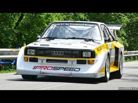 One of the most insane cars you will ever see or hear. The 770HP Audi S1 Quattro. They don't make them like they used to