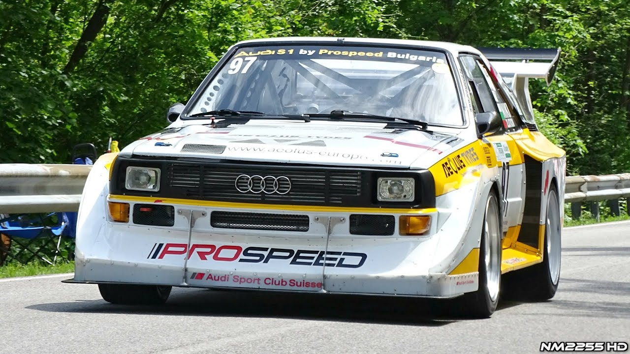 770hp audi s1 quattro hillclimb by prospeed amazing sounds. Black Bedroom Furniture Sets. Home Design Ideas