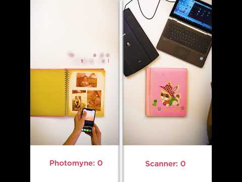 Photomyne vs. Flatbed Scanner - Who Wins?