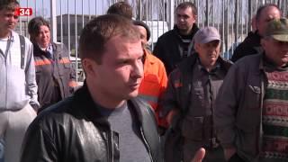 По Днепропетровщине прокатились «рабочие майданы»(На этой неделе на нескольких предприятиями Днепропетровской области бастовали рабочие. Об этом сообщают..., 2014-03-31T12:11:38.000Z)
