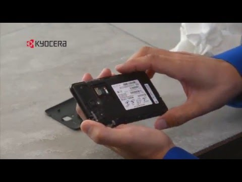 How to clean and care for the Kyocera Hydro VIEW