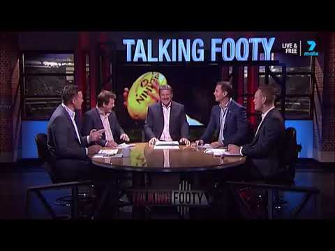 Brian Taylor Has A Go In The Ruck - Talking Footy Flashback