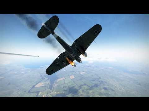 IL 2 Sturmovik Battle of Stalingrad Kills and Crashes 1