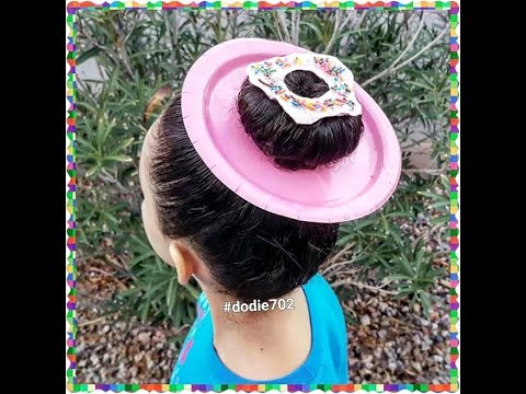 crazy hair day- donut