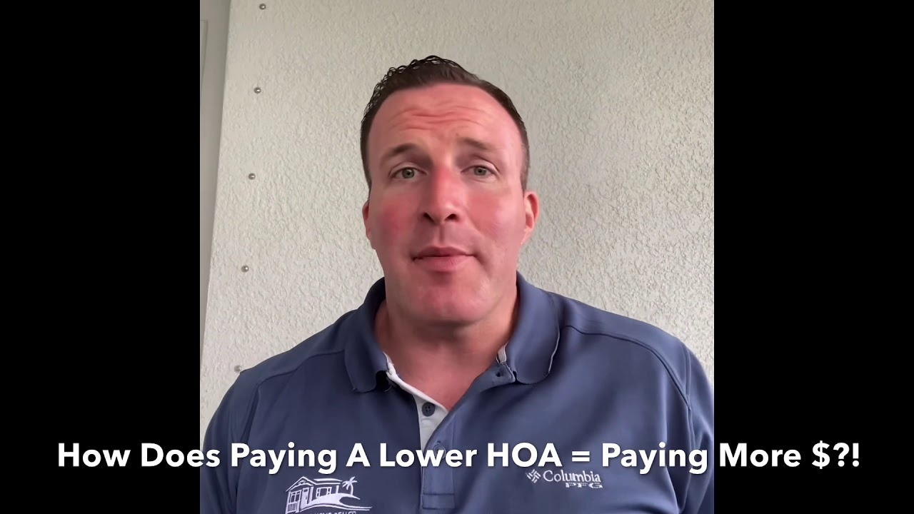 How Lower HOA Payments Cost You MORE MONEY!