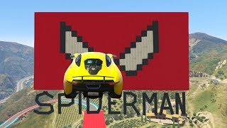 SPIDERMAN RACE! - GTA V ONLINE - GTA 5 ONLINE