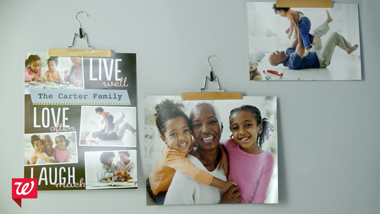 how to photo fun poster frames walgreens