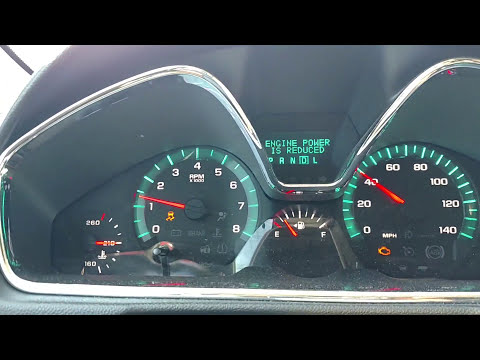 22Sept2016 2014 Chevy Traverse Engine, Traction Control, Stabilitrak Glitch