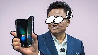 Samsung發佈會 誠實豆沙包版   Galaxy Fold S10 懶人包 2019