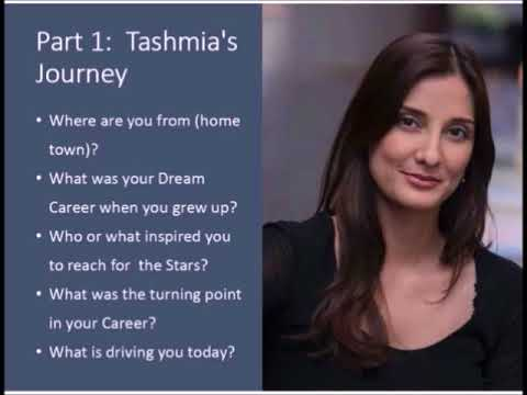 The Future of Leadership Interview with Dr Tashmia Ismail PART 1