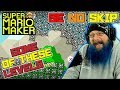 SOME OF THESE LEVELS... - Super Mario Maker - Super Expert No Skip with Oshikorosu
